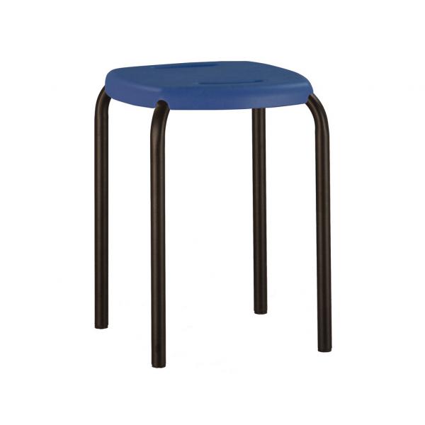 Scaun bucatarie Beetle Black, Albastru imagine