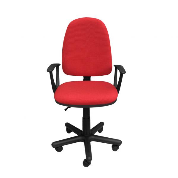 Scaun de birou PRIVILEGE II GTP, Rosu-negru stofa cagliari imagine