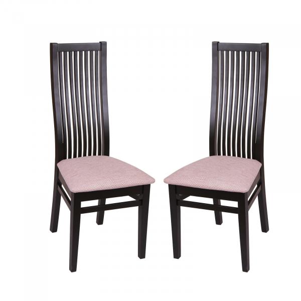 Set 2 scaune Puerto, Lemn, Wenge Regent plain 03 imagine