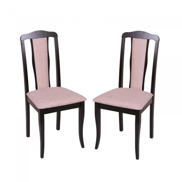 Set 2 scaune San Marino, Lemn, Wenge Regent plain 03 imagine